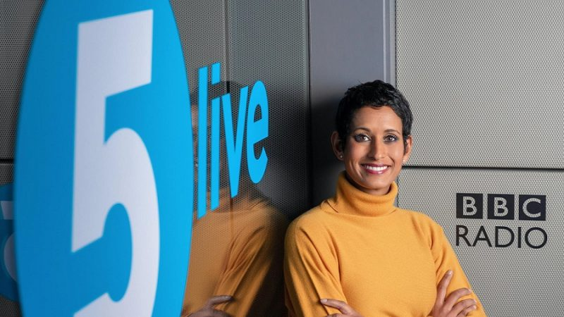 Deepa talking about the Polluter Pays Bill on radio 5 Live