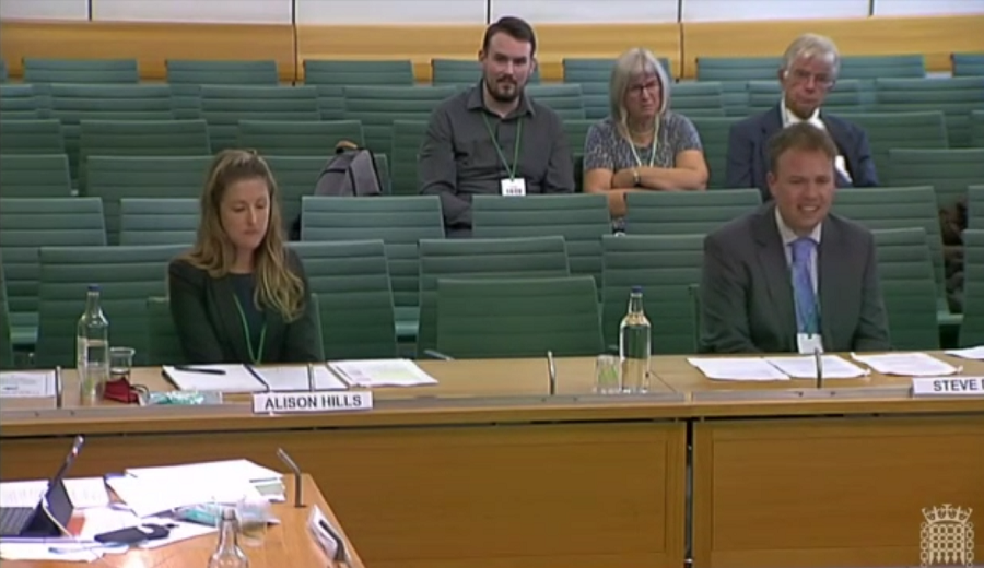 Polluter Pays evidence session at the Building Safety Bill Committee